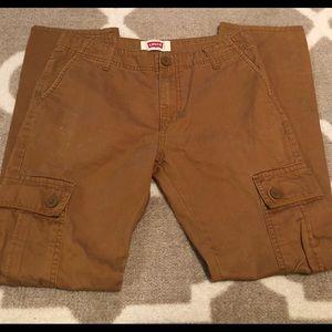 Boys Levi Khaki pants